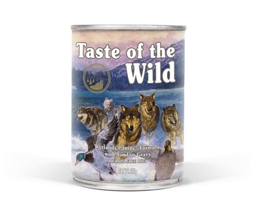 Taste of the Wild Konzerva Wetlands Wild 390 g