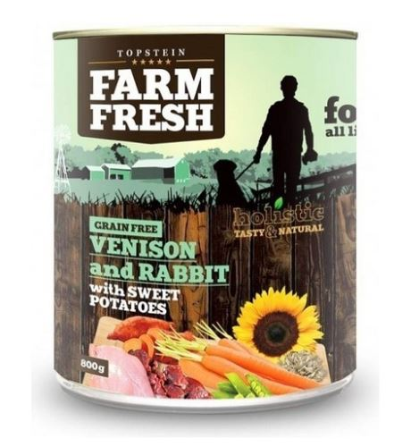 Farm Fresh Venison and Rabbit with Sweet Potatoes 800g